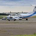 Photos: JCG Q300 おおわし+Cessna172S あまつばめ
