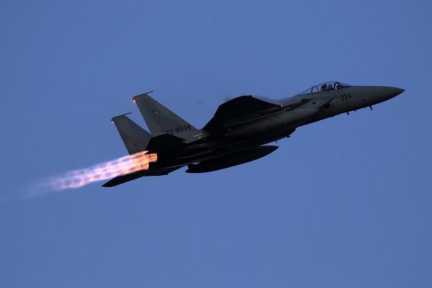 F-15J 934 201sq  High rate takeoff