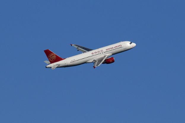 A320 DKH B6736 Rwy19R takeoff