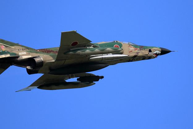 RF-4E 501sq 47-6903 飛来(3)