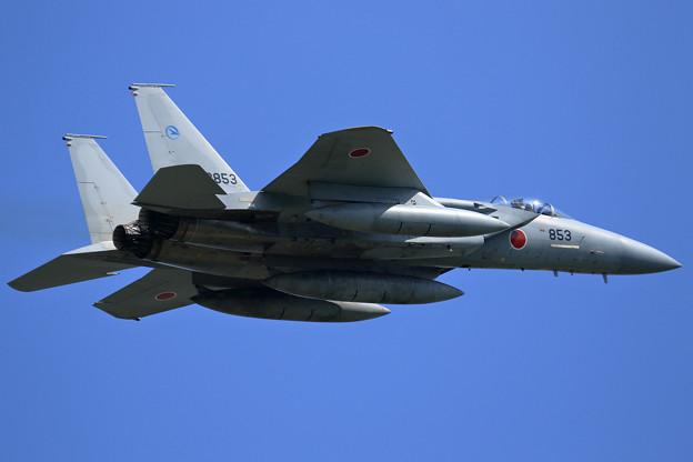 F-15J 52-8853 ADTW 飛来(1)