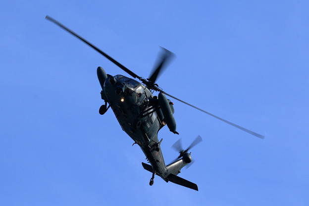 UH-60J 78-4585 approach