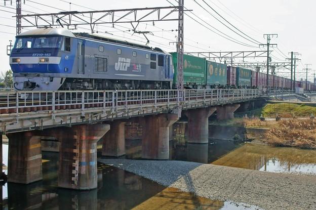 貨物列車【EF210-163牽引】