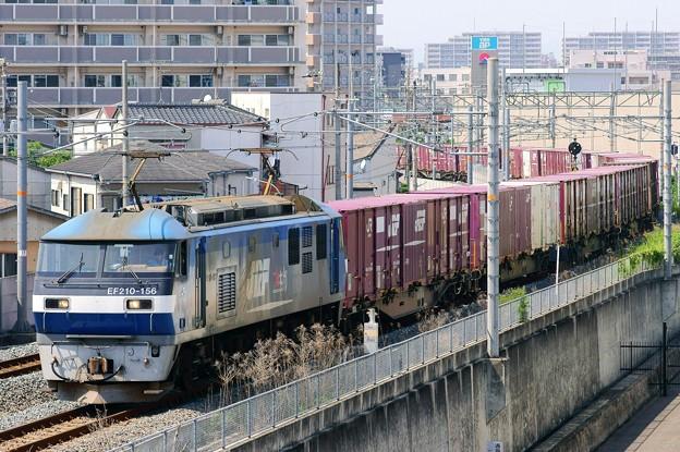 1086レ【EF210-156牽引】
