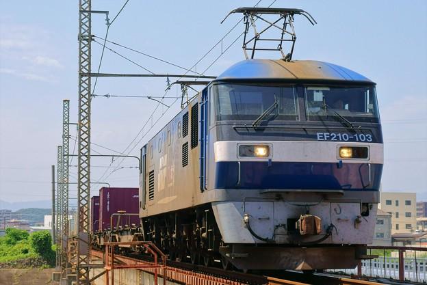 1086レ【EF210-103牽引】