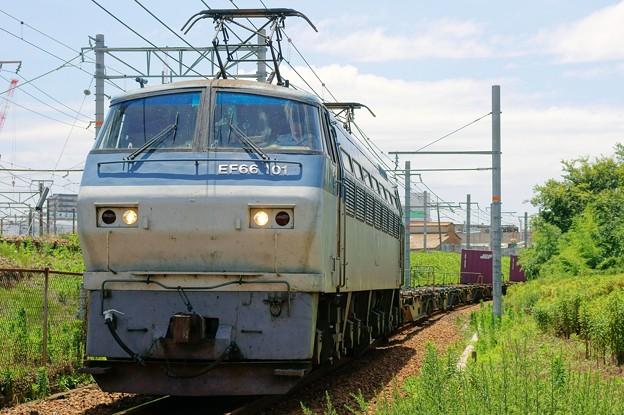5074レ【EF66 101牽引】