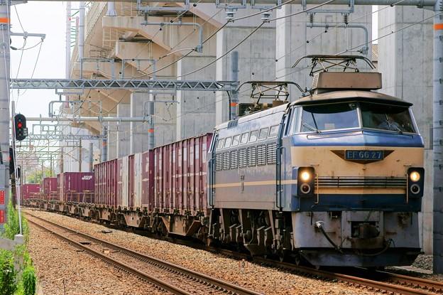 Photos: 5070レ【EF66 27牽引】