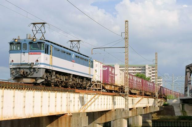 84レ【EF65 2060牽引】