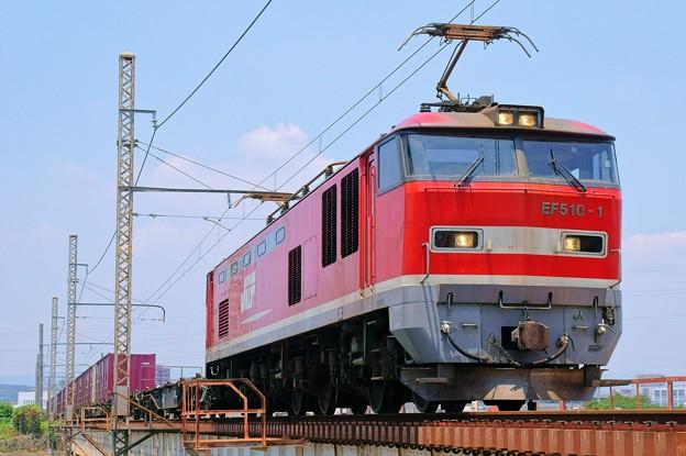 83レ【EF510-1牽引】