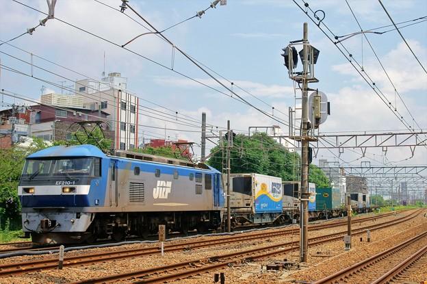 1055レ【EF210-1牽引】