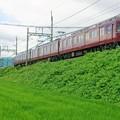 写真: 近鉄田原本線 マルーンレッド
