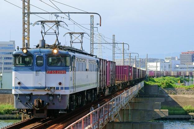 5087レ【EF65 2090牽引】