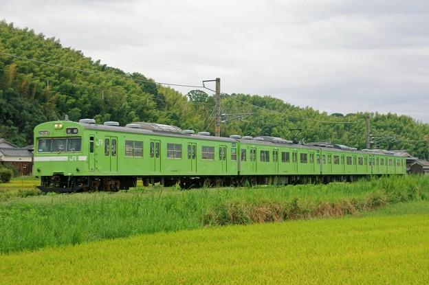 奈良線:103系