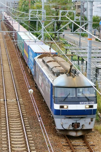 1052レ【EF210-135牽引】
