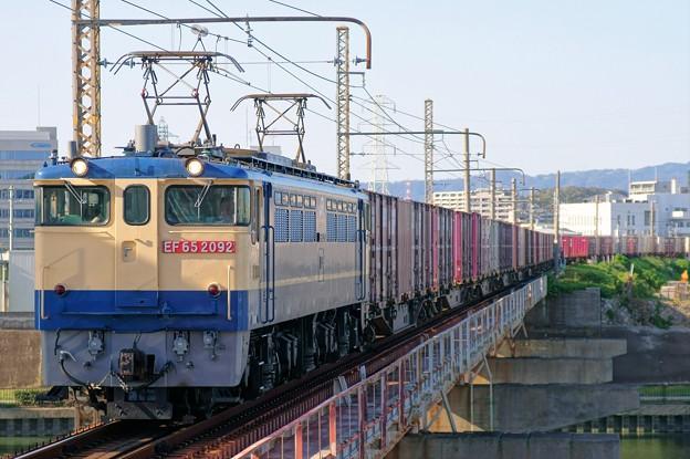 5087レ【EF65 2092牽引】