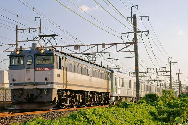 メトロ甲種輸送【EF65 2060牽引】