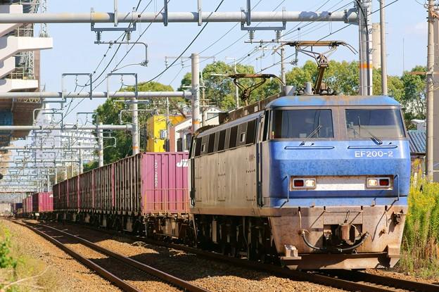 2081レ【EF200-2牽引】