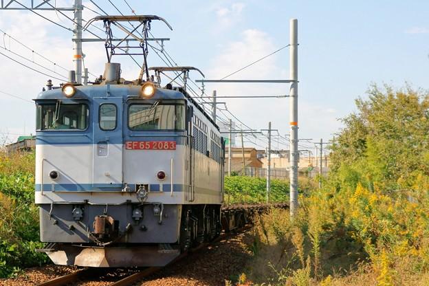 72レ【EF65 2083】