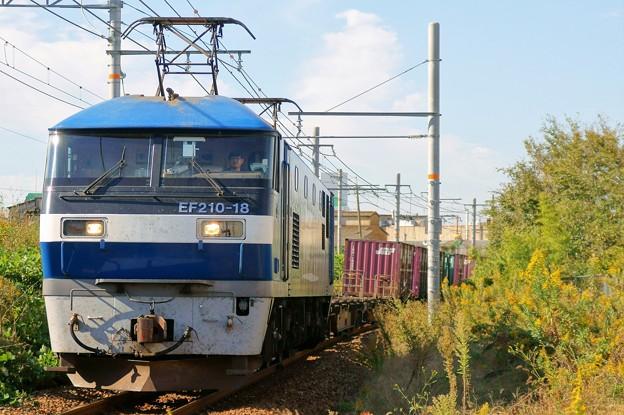 1070レ【EF210-18】