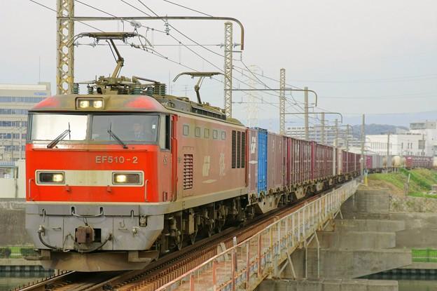 83レ【EF510-2牽引】