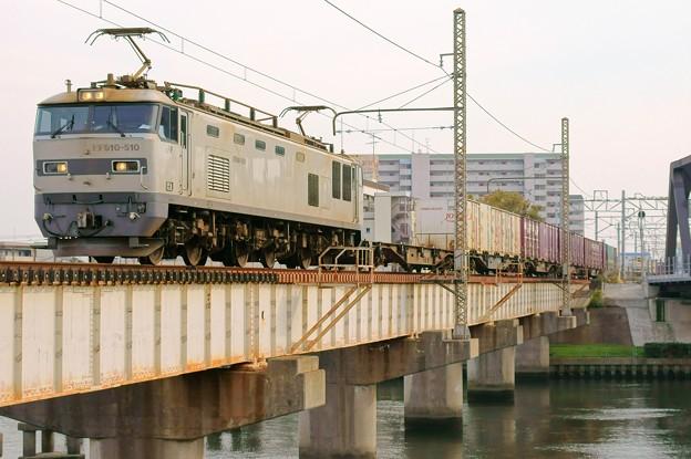 4071レ【EF510-510牽引】