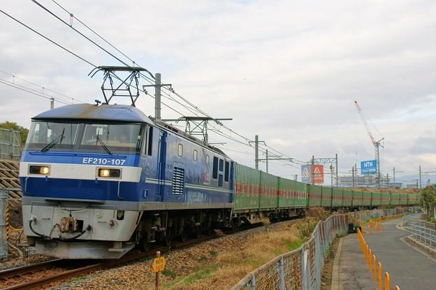 56レ【EF210-107牽引】