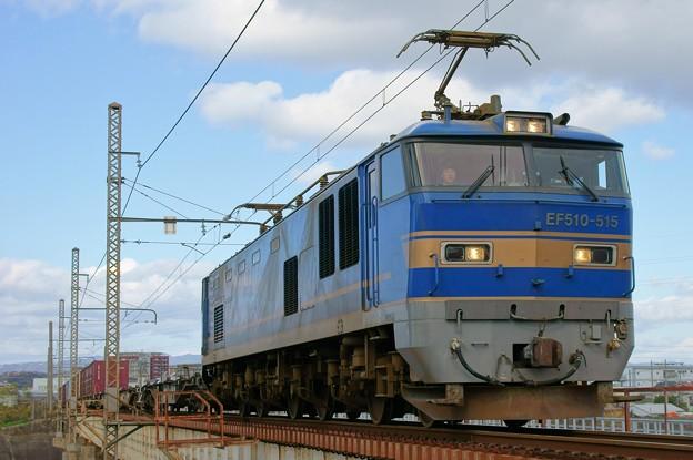 83レ【EF510-515牽引】