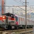 Photos: 都営大江戸線 甲種輸送【DE10 1743牽引】