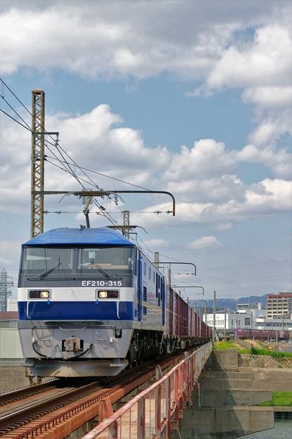 1086レ【EF210-315牽引】