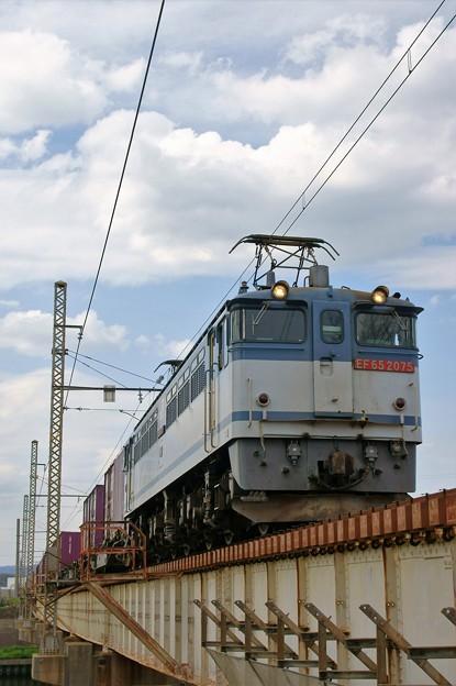 5087レ【EF65 2075牽引】