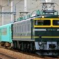 Photos: 配9566レ【EF81 113+キハ120 201】