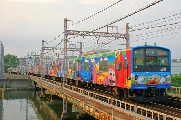 201系@桜島線