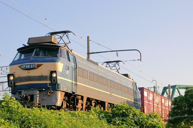 Photos: 2063レ【EF66 27牽引】