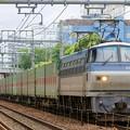 Photos: 遅55レ【EF66 124牽引】