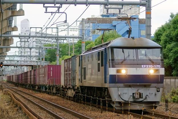 5057レ【EF210-170牽引】