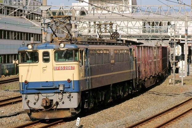 84レ【EF65 2067牽引】