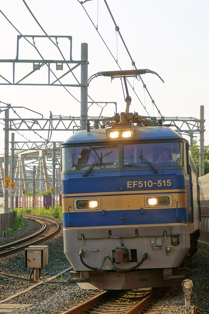 4076レ【EF510-515牽引】