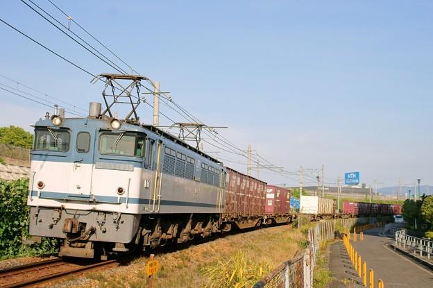 74レ【EF65 2095牽引】