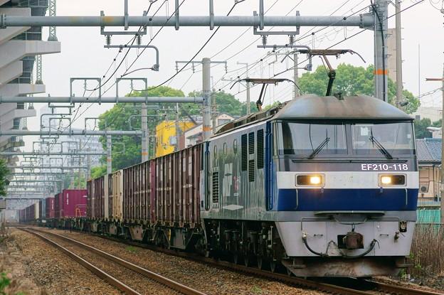1053レ【EF210-118牽引】
