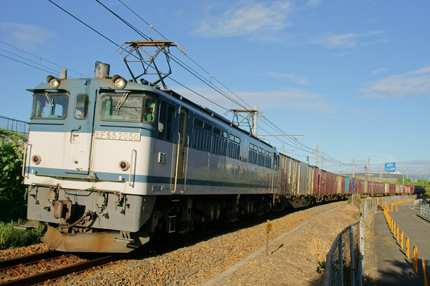 74レ【EF65 2050牽引】