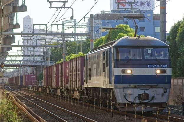 1053レ【EF210-163牽引】