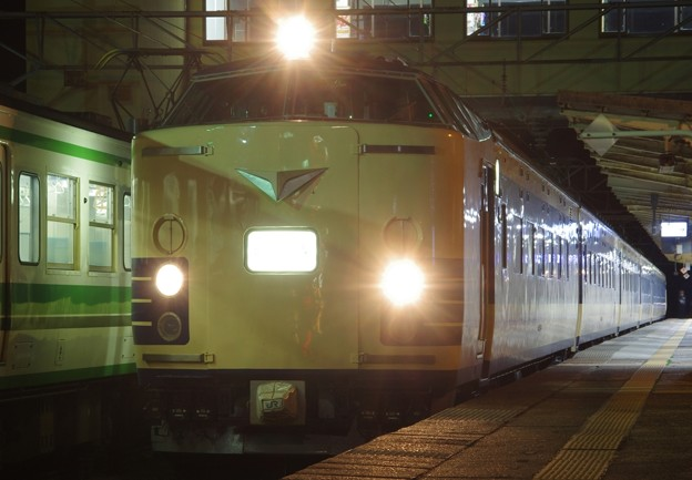 583系秋田車 N1・N2編成 「583系夜行列車 秋田~大阪の旅」