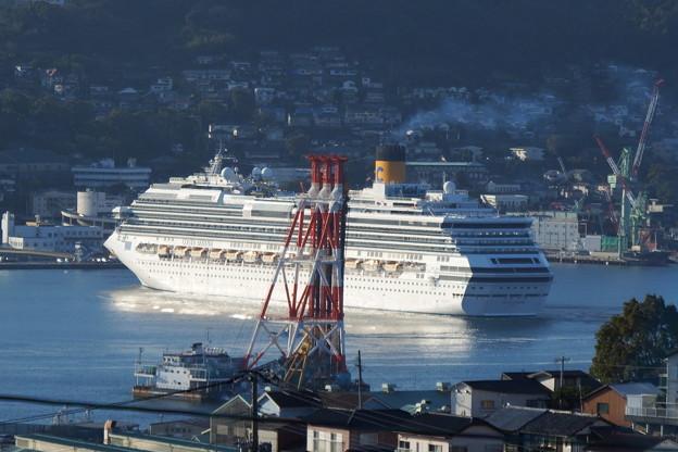 コスタ・セレーナが入港しました
