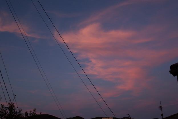 写真: 夕焼け 3