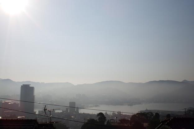 靄の中 3