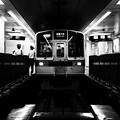 写真: 小田急線新宿駅地下ホーム(処理違い)