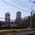 線路越しに見た国分寺