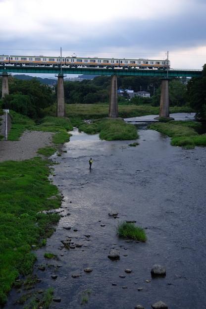 Photos: 阿岩橋を渡る
