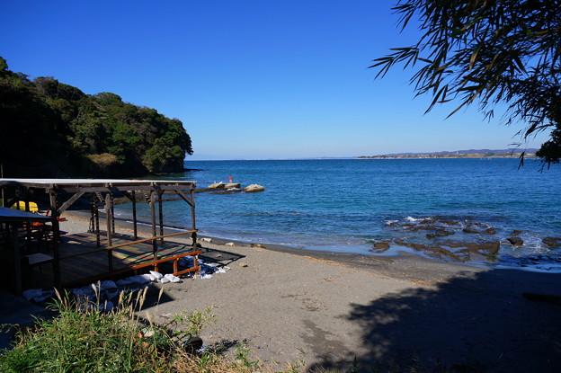 季節外れの海水浴場