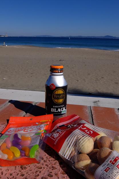 海辺の一杯